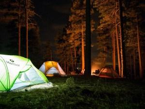 Camping tents -- The Hot Mess Press