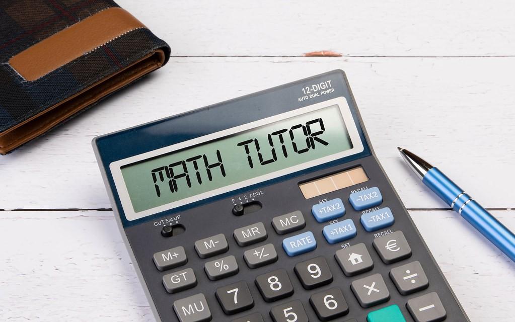 Summer Job Math Tutor