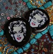 Náušnice Marilyn Monroe