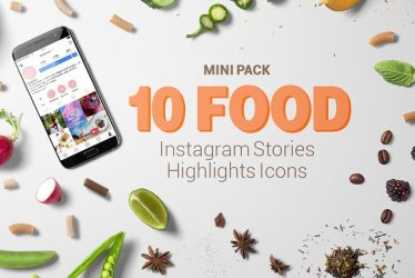 instagram icons highlights food stories thehotskills