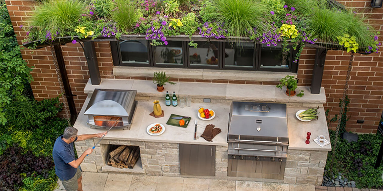 backyard kitchens over kitchen sink light outdoor the hot tub factory long island tubs has all of your needs