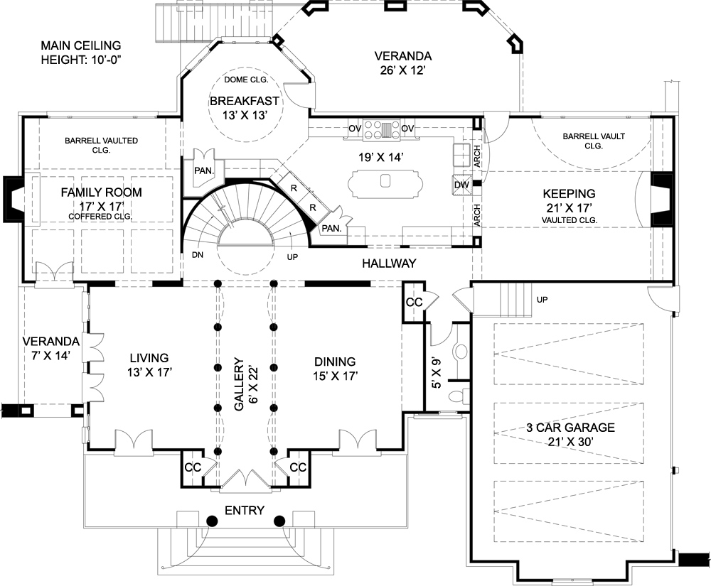 Chiswick House 7939 - 4 Bedrooms And 3 Baths