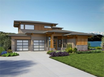 Modern House Plans & Contemporary Style Home Blueprints