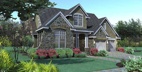Narrow Lot House Plans & Small Unique Home Floorplans By THD