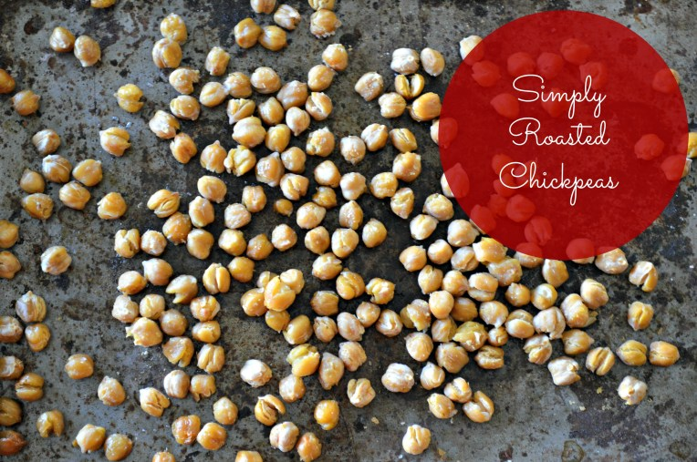 Simply Roasted Chickpeas