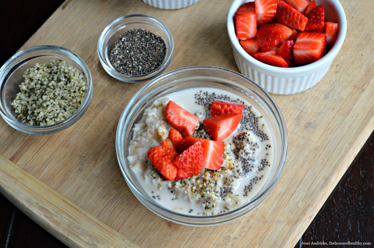 Spruced Up Oatmeal