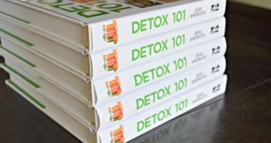 Detox 101 Book Pile