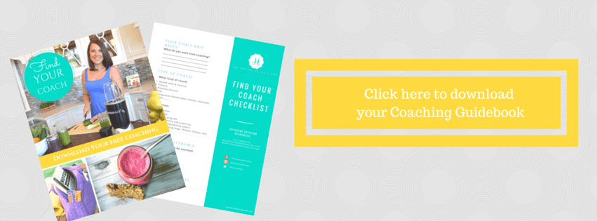 Hire a Health Coach Banner