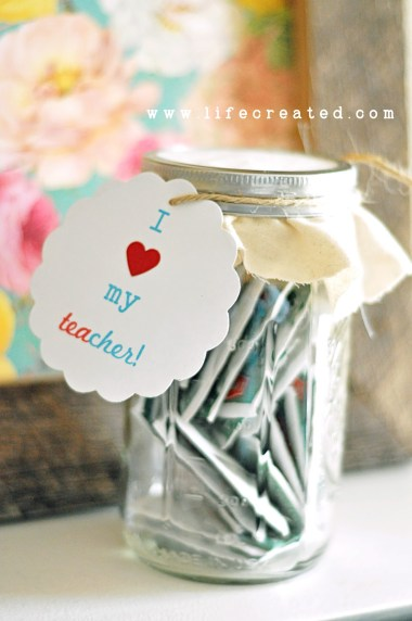 teacher appreciation tea gift printable