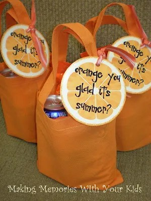 finished gift bags