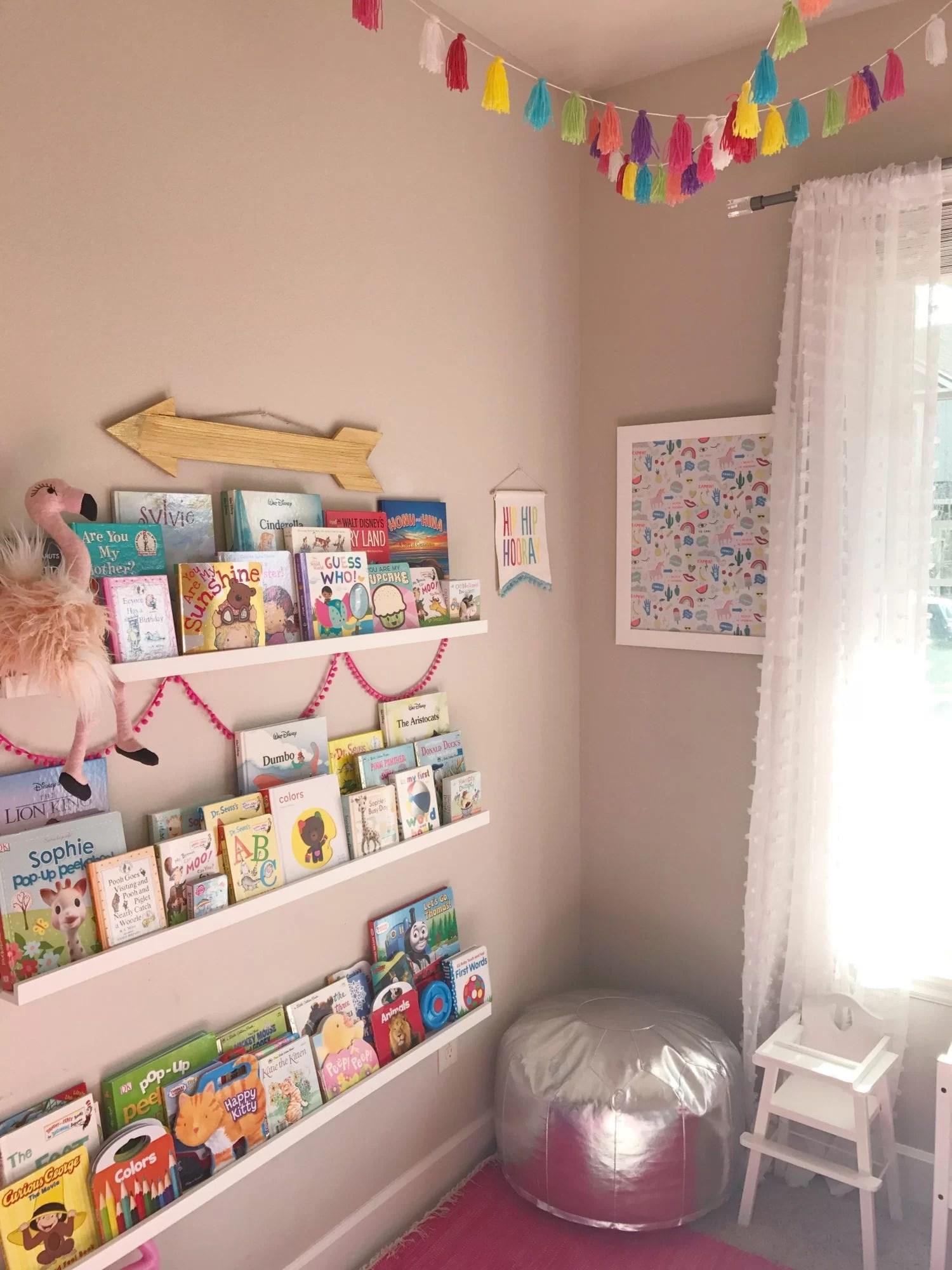 Girly playroom, toddler play room