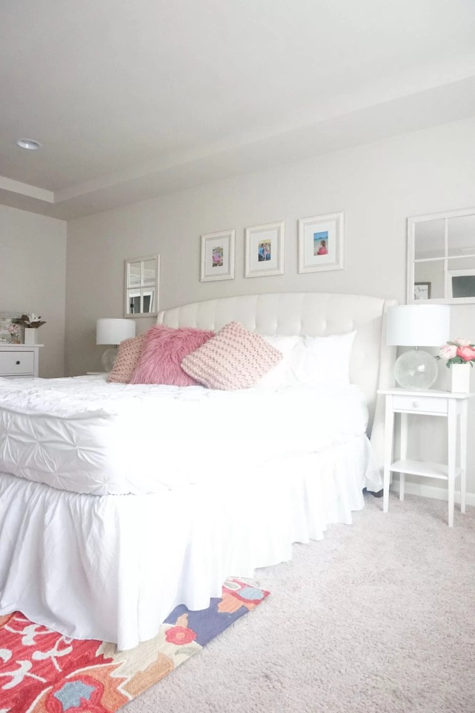 beddy's bed, beddy's review, bedding, comforters, chic white bedding