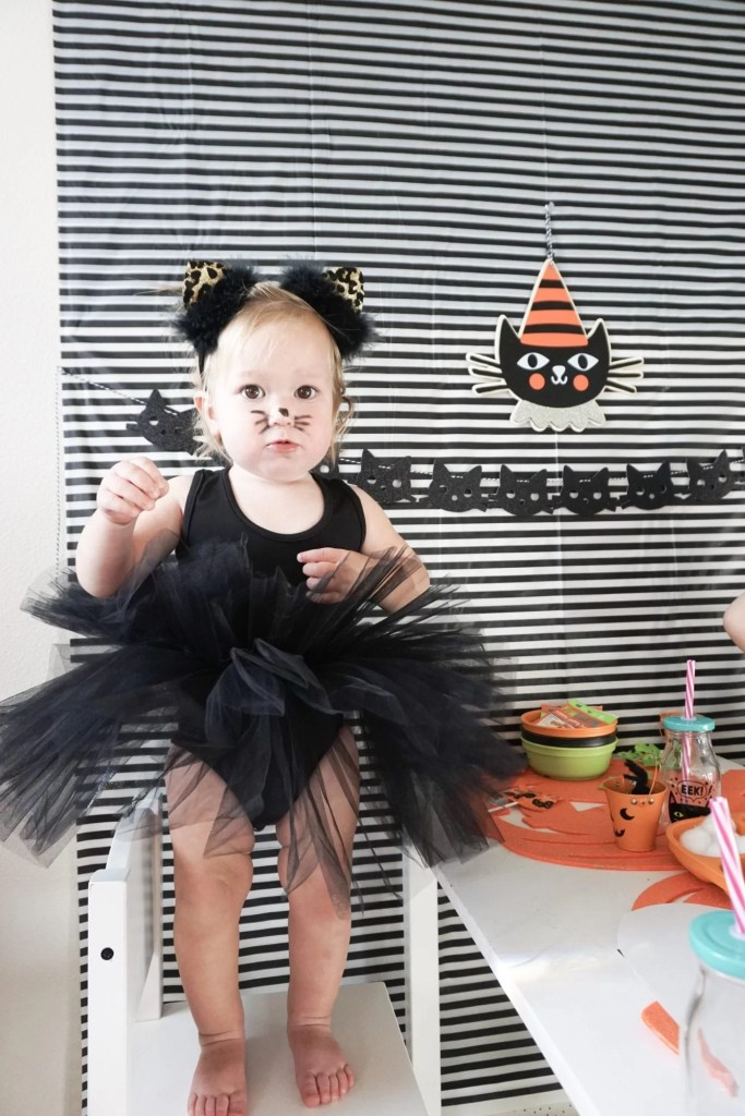 Children's Halloween Parties, Party Decor, Cat Costume, Organic Candy, Non-GMO Candy, Treats, Kids Party