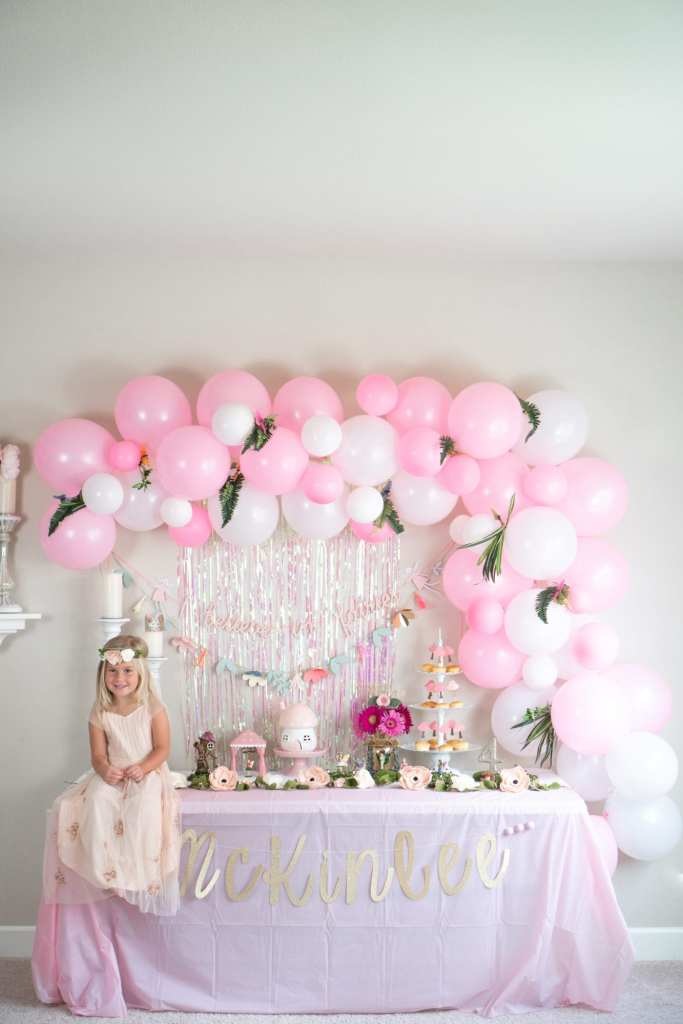 Mckinlees Fairy Themed Birthday Party The House Of Hood Blog