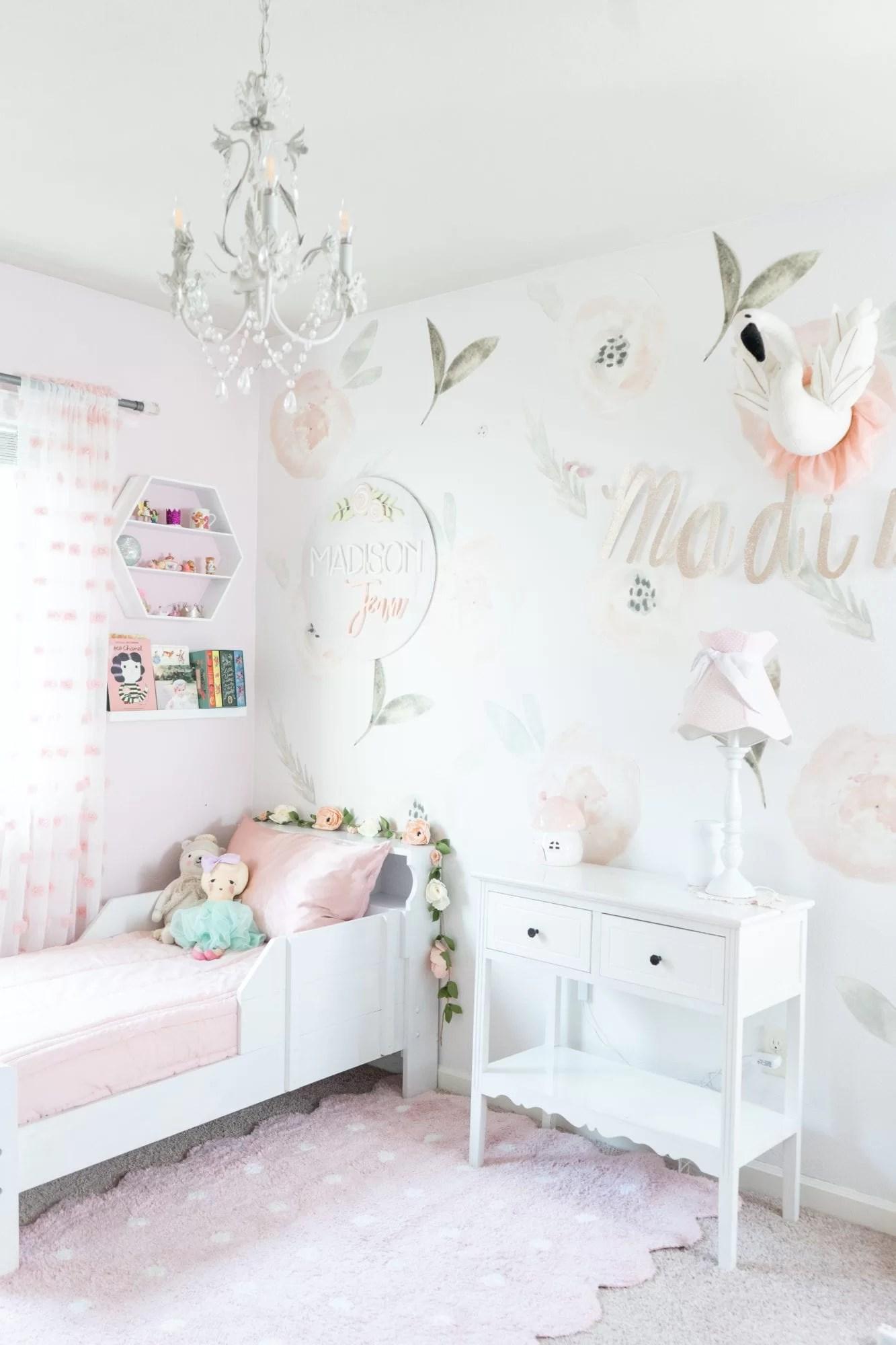Toddler Girl Room Decor The House Of Hood Blog