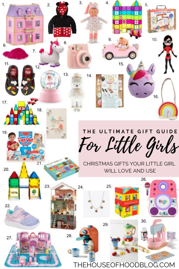 Christmas Gifts For Girls.The Ultimate Christmas Gift Guide For Little Girls The