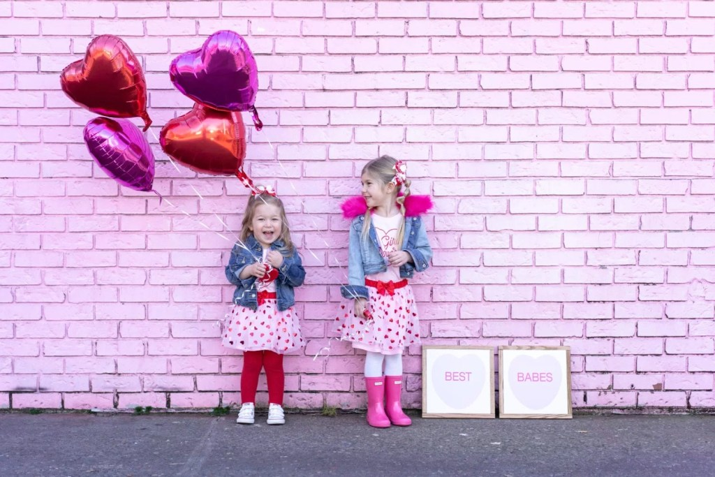 b4bd19f09f58 Bright and Fun Valentine's Day Outfit Ideas for Toddler Girls