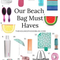 Summer Beach Bag Essentials