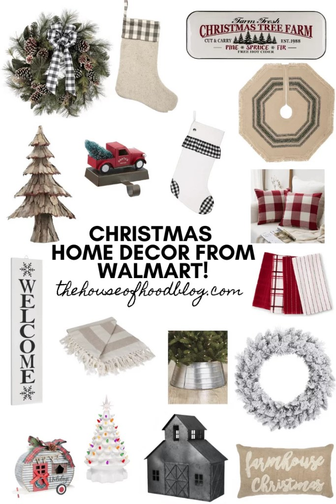Christmas Home Decor From Walmart