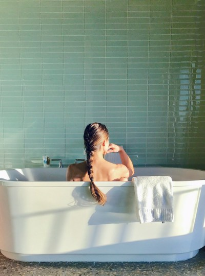 Soaking Up Relaxation: Bath Time