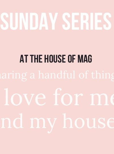 The Sunday Series with The House of Mag. Vol. 1