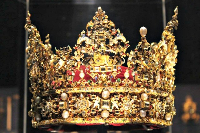 The Crown Jewels of Denmark.