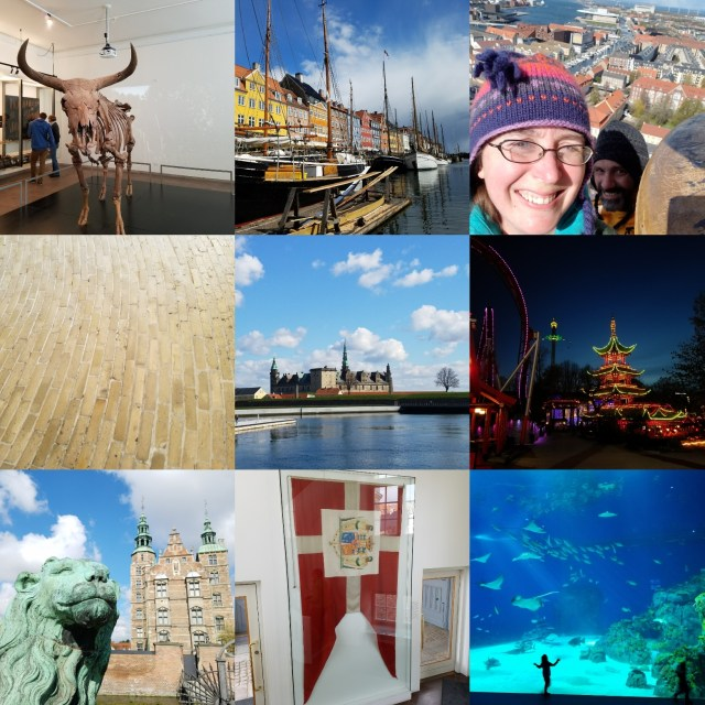 Some of the places in Copenhagen, Denmark that we visited