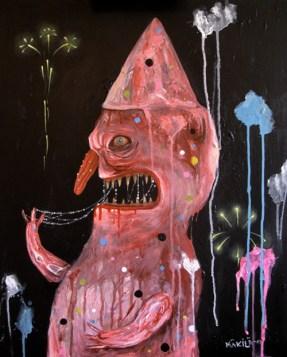Bacon Colored Demon