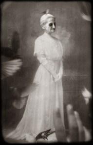 """""""Bird Lady"""" by Mia Makila, 2007"""