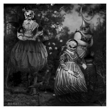 """The Gathering"" by Mia Makila, 2007 [digital]"