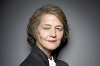 Charlotte Rampling's eyes are my new obsession and inspiration