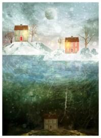 """Iceland"" by Mia Makila. 2015 [digital]"