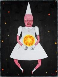 """The Core"" by Mia Makila, 2016, acrylic on canvas, 81 x 100 cm"