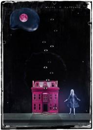 """""""The Pink House"""" by Mia Makila, 2017 (digital)"""