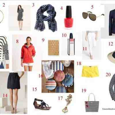 Nautical by Nature: What to Buy Now