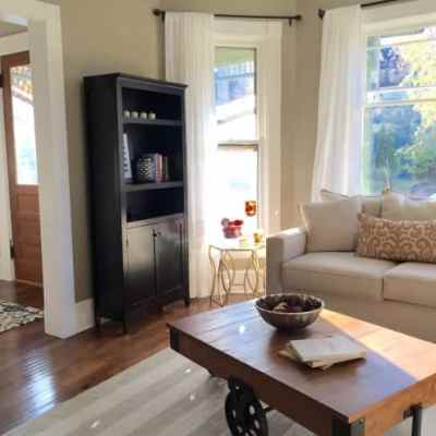 Before & After: Living Room