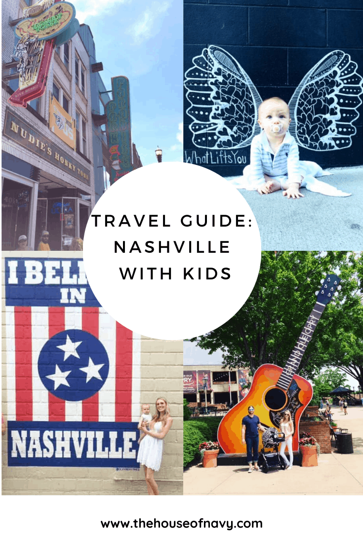 nashville travel guide collage