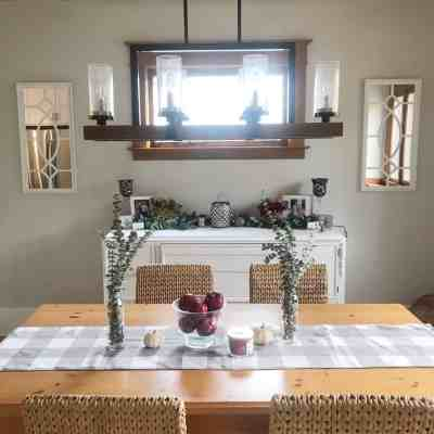Before & After: Dining Room