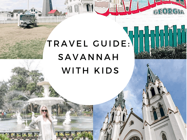 Savannah Travel Guide with Kids