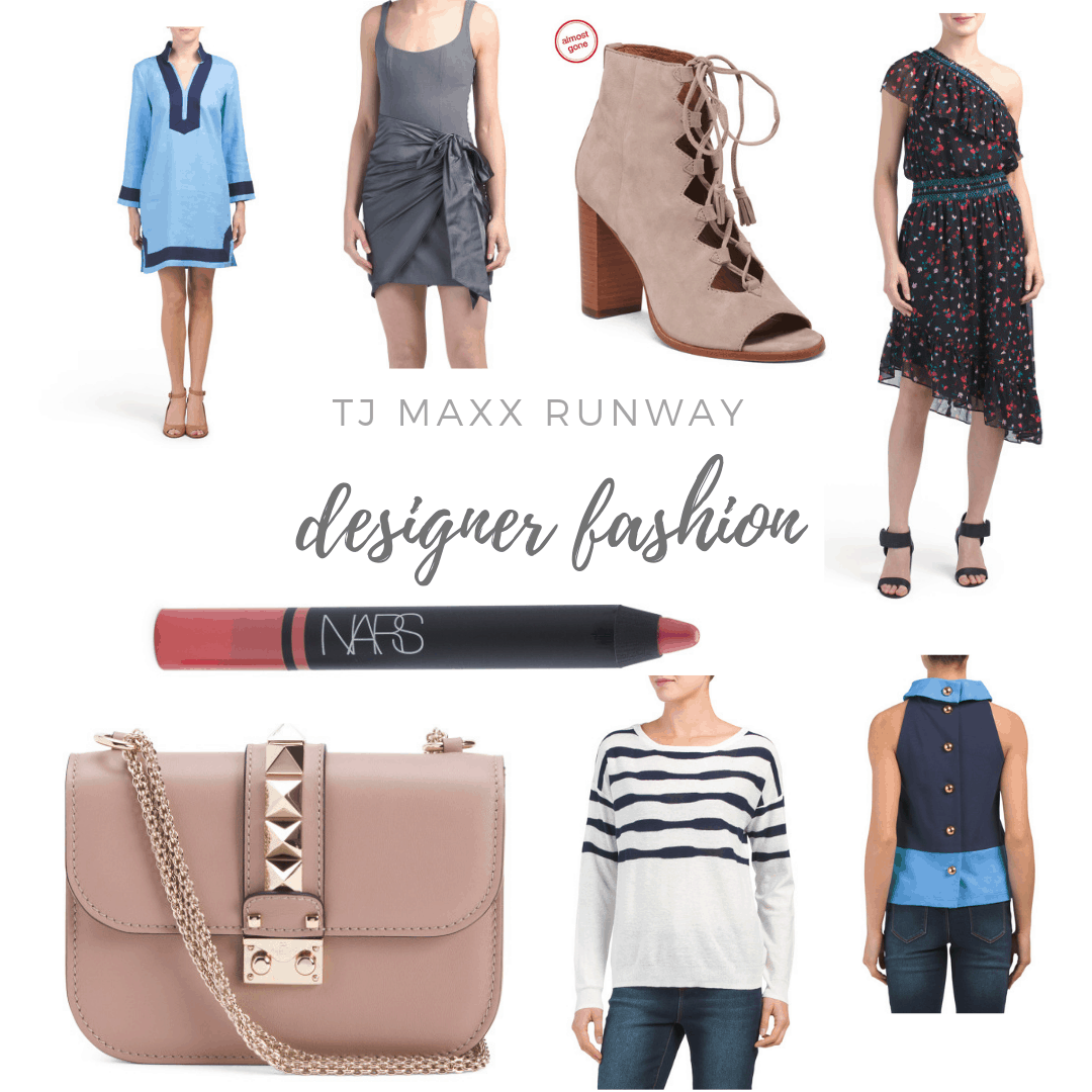 TJ Maxx Runway reviewed by top Michigan fashion blog, House of Navy