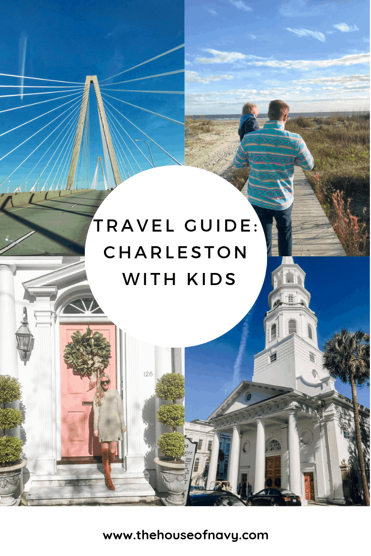 charleston travel guide collage