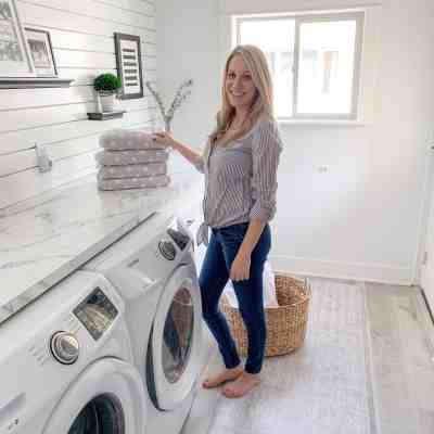 A Fresh and Clean Laundry Room with Namamat