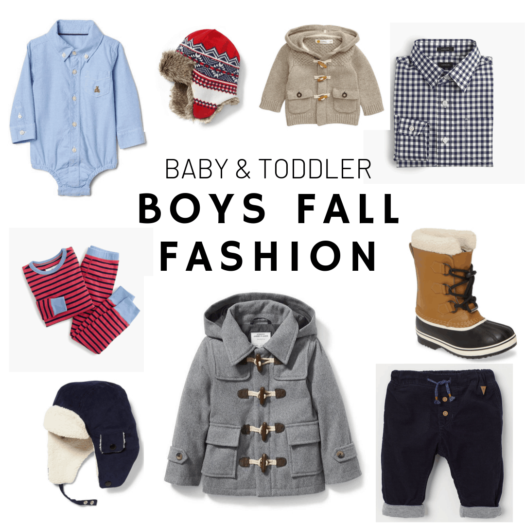 baby boy and toddler fashion