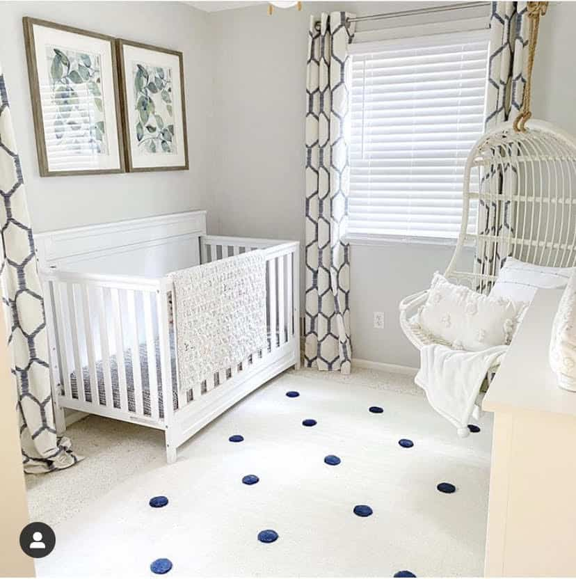 9 Stunning Coastal Paint Colors For Your Home featured by top MI lifestyle blogger, House of Navy: nautical nursery