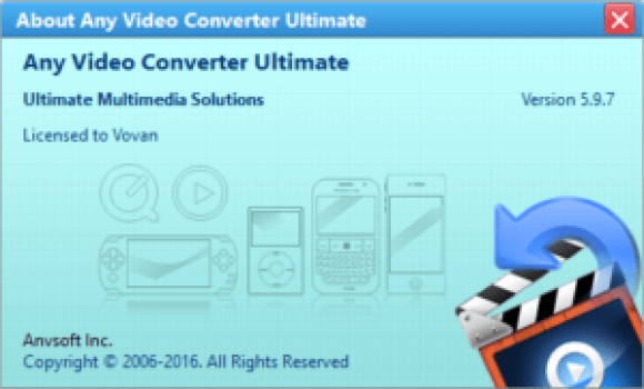 Any Video Converter Ultimate 5 9 7 Portable - The House of