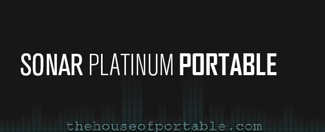 sonar platinum 23.1 portable