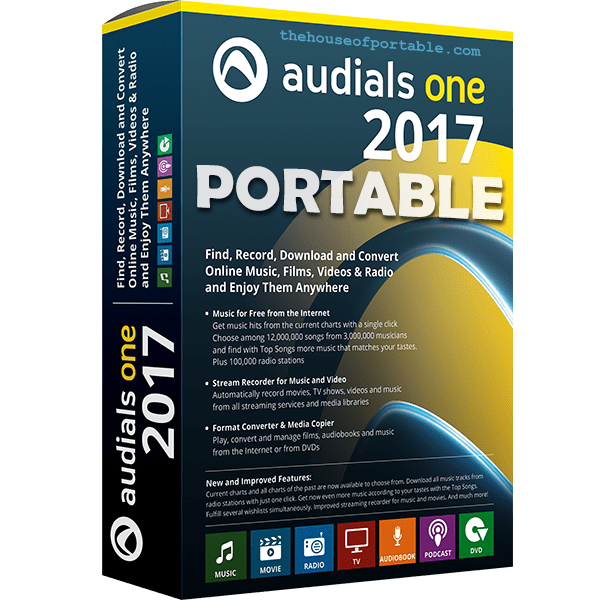 audials one 2017 portable