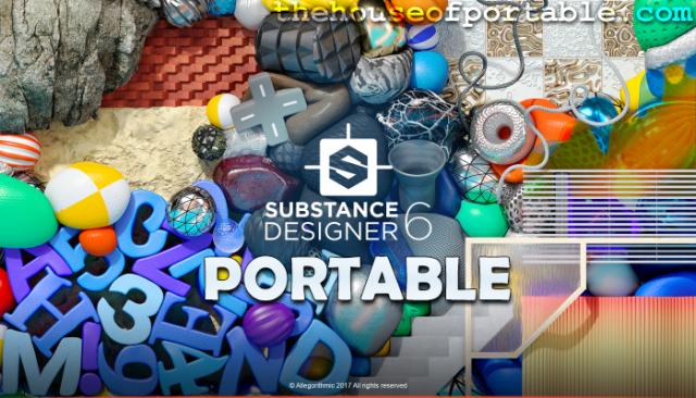 substance designer 6 portable