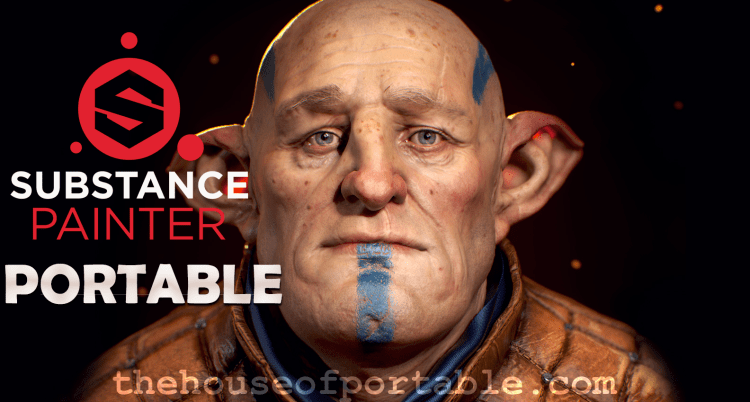 substance painter portable