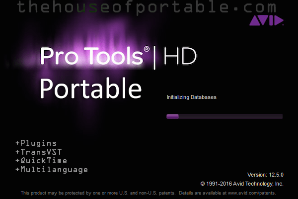 avid pro tools hd 12.5 portable